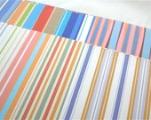 Assorted Paper Pack 6x6 122 - Stripes