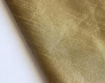Metallic Gold Art Silk Fabric By The Yard Silk Curtain Fabric Apparel Fabric