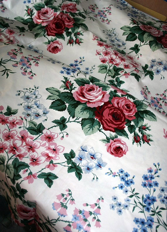 Vintage First Lady Centennial Collection Fabric Two Yards