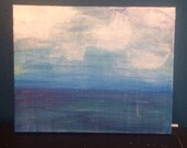 Art Sale Large Original Abstract Art Water Seascape textured Ocean Painting