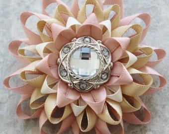 Blush Corsage Flower Pin, Blush Pink Flowers, Blush Wedding Flowers, Blush Flower Pin, Pink Flower Corsage Pin, Pink Corsage Flower Corsages