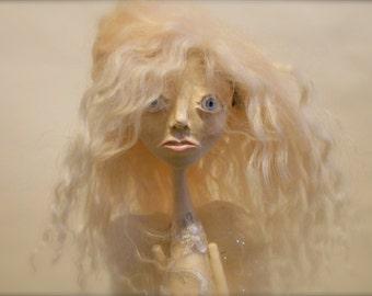 Sarafine - Angel Christmas Tree Topper Art Doll