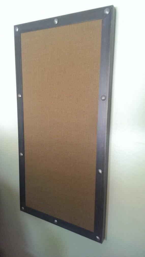 Modern industrial bulletin board d002 industrial style for Modern cork board