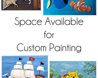 18x24 Custom Painting Space Available