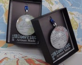 Map Christmas Ornament, You choose the special place in the heart.