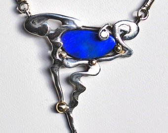 Opal Sea Necklace