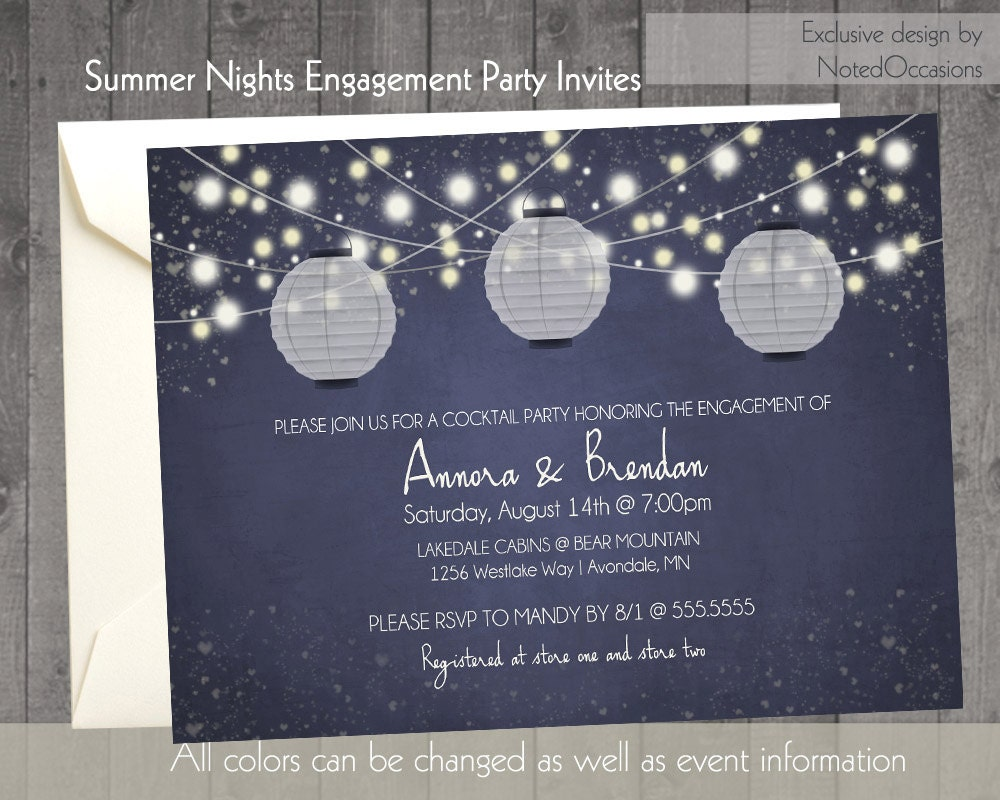couples engagement party invitations rehearsal by. Black Bedroom Furniture Sets. Home Design Ideas