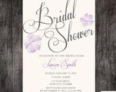 Bridal Shower invitation , wedding shower, Kitchen shower - Printed or DIY