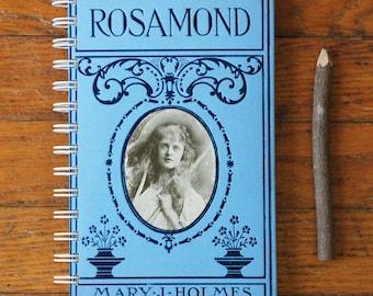 Rosamond notebook vintage book journal victorian