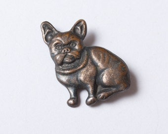 Vintage pin, Dog,  Badge, from USSR