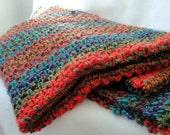 Crochet Blanket Patttern, Crochet afghan pattern, crochet throw pattern, Perennial Garden Afghan Throw