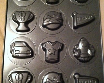 Sports Tart mold and or floating candle mold.