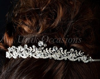 Bridal Wedding Party Vintage Style Quality Austrian Crystal Tiara - Style 53