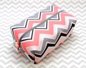 Large Box Bag, Travel Bag or Project Bag - Pink