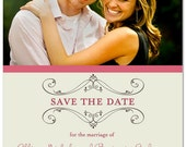 PRINTABLE - Wedding Save the Date Photo Card