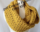 Crochet Pattern: The Simple Series Infinity Scarf (Instant Download)