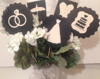 Bridal Shower Table Decor