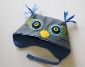 Little Grey Owl Hat