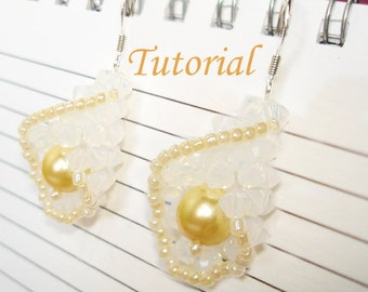 Beading Tutorial - Beaded Calla Lily Earrings
