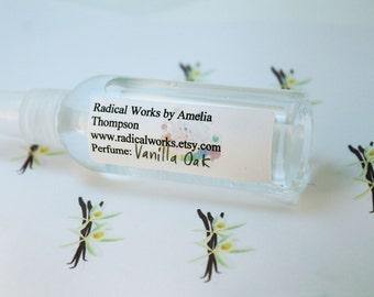 Vanilla Oak Perfume Spray - Cologne - Perfume Bottle - Natural Perfume - Perfume Atomizer - Perfume Samples