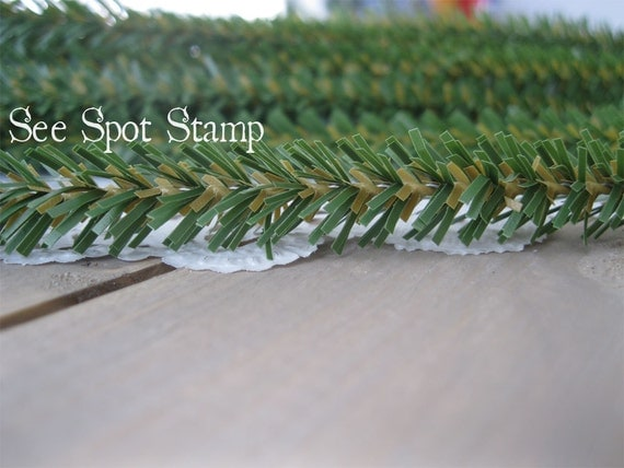 Pine Pipe Cleaner Green Christmas Tree Pine stems by ...