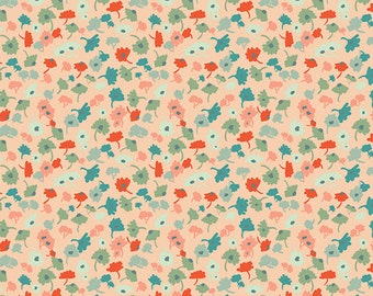 Delicate Femme Apricot  RPT-2701 - RAPTURE by Pat Bravo - Art Gallery Fabrics  - By the Yard