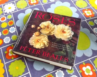 Rose Book, Rose Variety Gardening Coffee Table Book, Encyclopedia of Roses Peter Beales Garden Reference Book