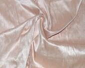 Silk Dupioni in   Tea Rose- Extra wide 54 inches Half Yard, DEX 203