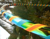 GrEeN GeCkO Gleam & Grip Hula Hoop // Custom Diameter and Tubing Options