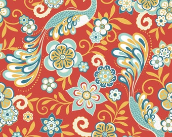 Riley Blake Designs Serenata in Red - Samantha Walker C3260