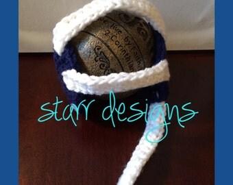 PATTERN!!! Newborn Wresting Headgear Crochet Pattern