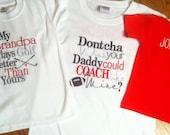 Embroidered Shirt Sayings