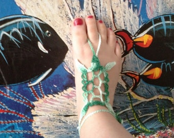 PDF Pattern Turtle Barefoot Sandals PDF Pattern instant download