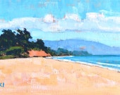 East Beach Santa Barbara, California Landscape Painting