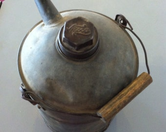Antique Oil Can from a Farm