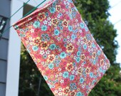 Clothespin Bag CUSTOM listing for Jessica PEACE SIGN fabric