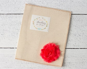 Custom CD/DVD Case- Simply Chic~ Coral Flower