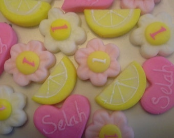 LEMONADE PARTY MINTS -  Special Occasions, Birthdays, Weddings, Part 6 dozen Cream Cheese Mints