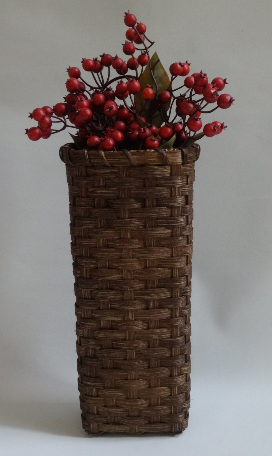 Wall basket wall decor handwoven basket - Decorative basket wall art ...