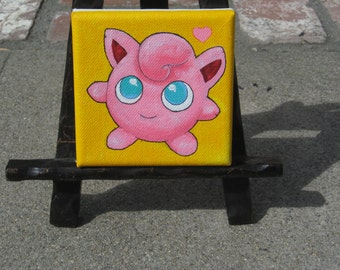 Jiggly Puff mini painting