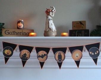 Halloween Banner - Scary Pennants #4