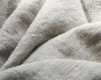ECO FRIENDLY Natural burlap linen fabric washed --Linen--Natural