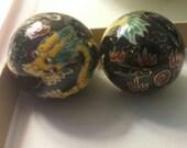 Porcelain Dragon Beads