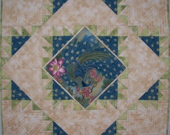 Wavy Daisy Table Runner Wall Hanging Quilt Pattern