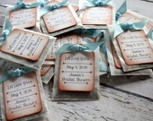 Wildflower Seed Favor - Personalized