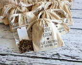PERSONALIZED - Wildflower Seed Sack