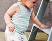 Unisex Baby Leggings, Organic Cotton Leggings, MADE TO ORDER, Hot Air Balloon leggings by House of Mia