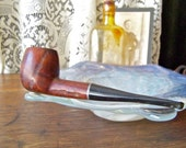 Vintage Smoking Pipe Fleetwood Imported Briar Mans Pipe Smoking Accessory Tobacco Pipe Man Cave Vintage 1950s