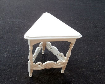 Unique Scrolly Carved Table