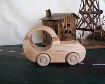 Toy Car Designed for Children, Kids  from Upcycled Solid Wood